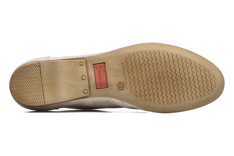 Zapatos con cordones Dorking Candy 5058 Plateado vista de arriba