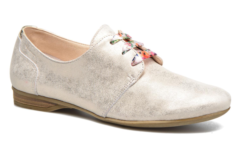 Zapatos con cordones Dorking Candy 5058 Plateado vista de detalle / par
