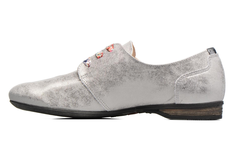 Zapatos con cordones Dorking Candy 5058 Gris vista de frente