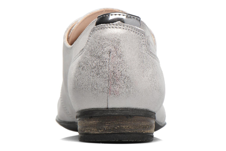 Zapatos con cordones Dorking Candy 5058 Gris vista lateral derecha