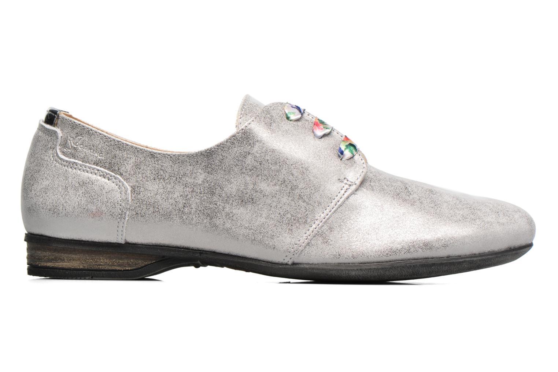 Zapatos con cordones Dorking Candy 5058 Gris vistra trasera