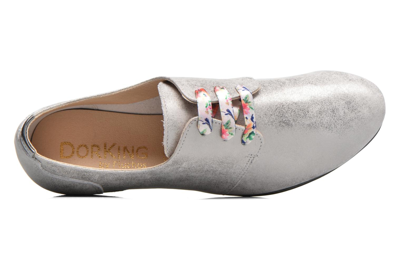 Zapatos con cordones Dorking Candy 5058 Gris vista lateral izquierda
