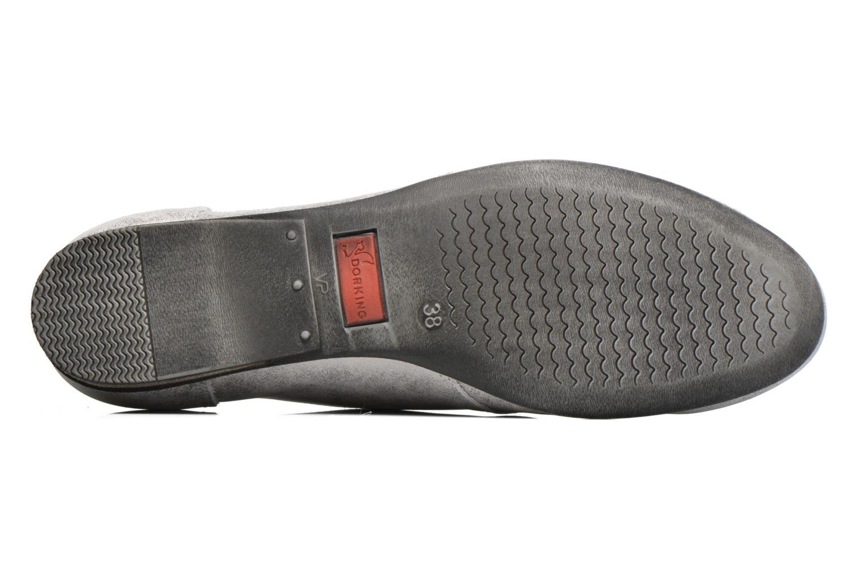 Zapatos con cordones Dorking Candy 5058 Gris vista de arriba