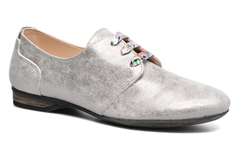 Chaussures à lacets Dorking Candy 5058 Gris vue détail/paire