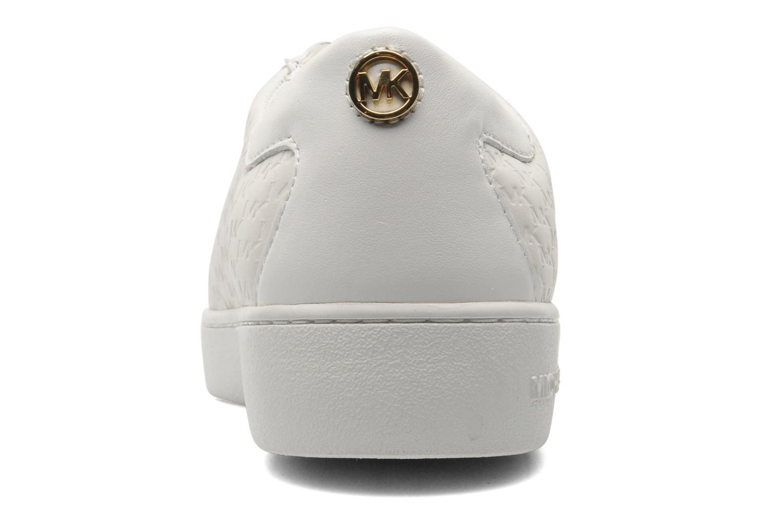 Baskets Michael Michael Kors Colby Sneaker Blanc vue droite