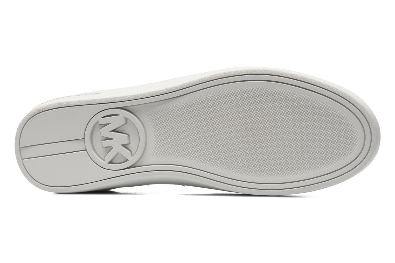 Baskets Michael Michael Kors Colby Sneaker Blanc vue haut