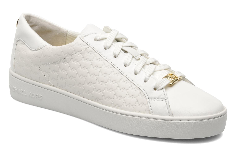 Baskets Michael Michael Kors Colby Sneaker Blanc vue détail/paire