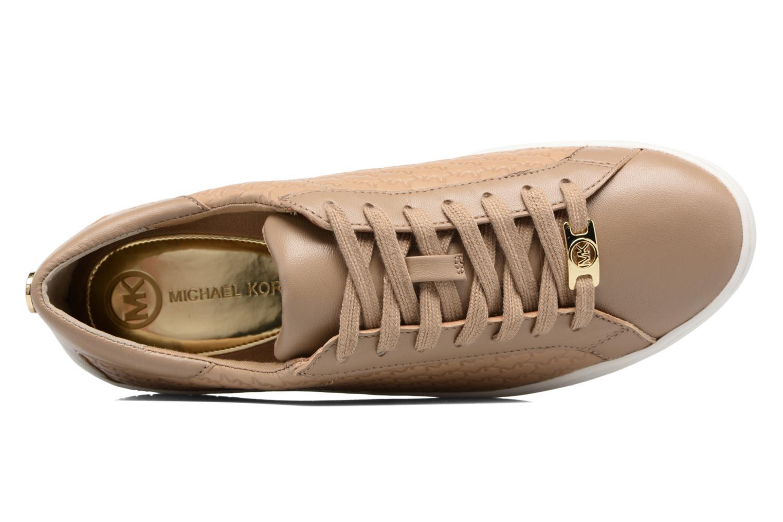 Baskets Michael Michael Kors Colby Sneaker Vert vue gauche
