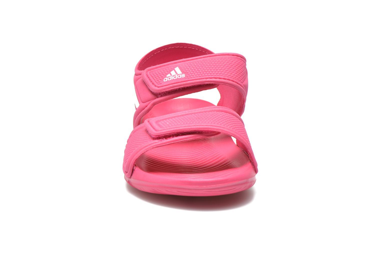 Sandales et nu-pieds Adidas Performance Akwah 9 K Rose vue portées chaussures