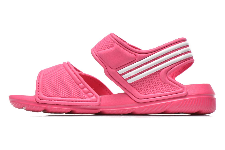 Sandales et nu-pieds Adidas Performance Akwah 9 K Rose vue face