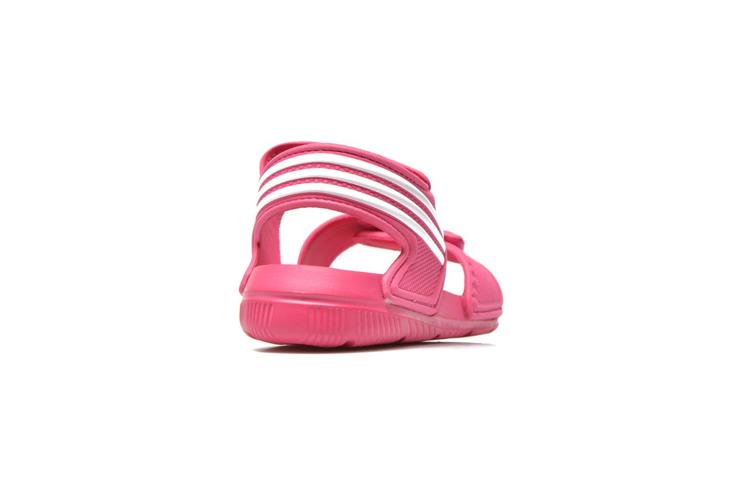 Sandals Adidas Performance Akwah 9 K Pink view from the right
