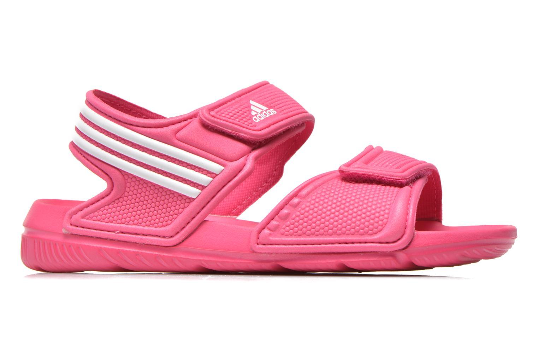 Sandalias Adidas Performance Akwah 9 K Rosa vistra trasera