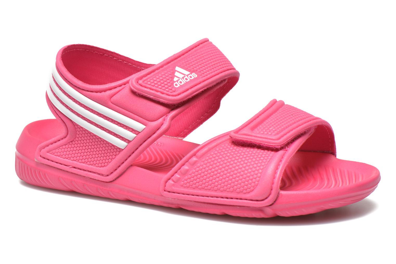 Sandalias Adidas Performance Akwah 9 K Rosa vista de detalle / par