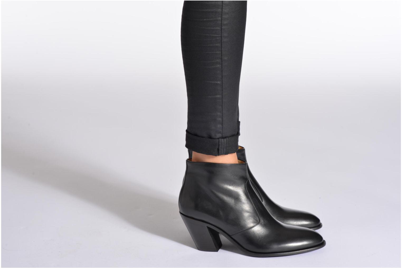 Bottines et boots Free Lance Demy 7 zip boot Noir vue bas / vue portée sac