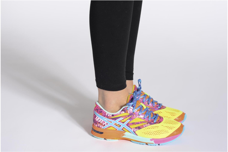 Sportschuhe Asics Lady Gel-Noosa Tri 10 mehrfarbig ansicht von unten / tasche getragen
