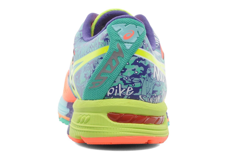 Sportschuhe Asics Lady Gel-Noosa Tri 10 mehrfarbig ansicht von rechts