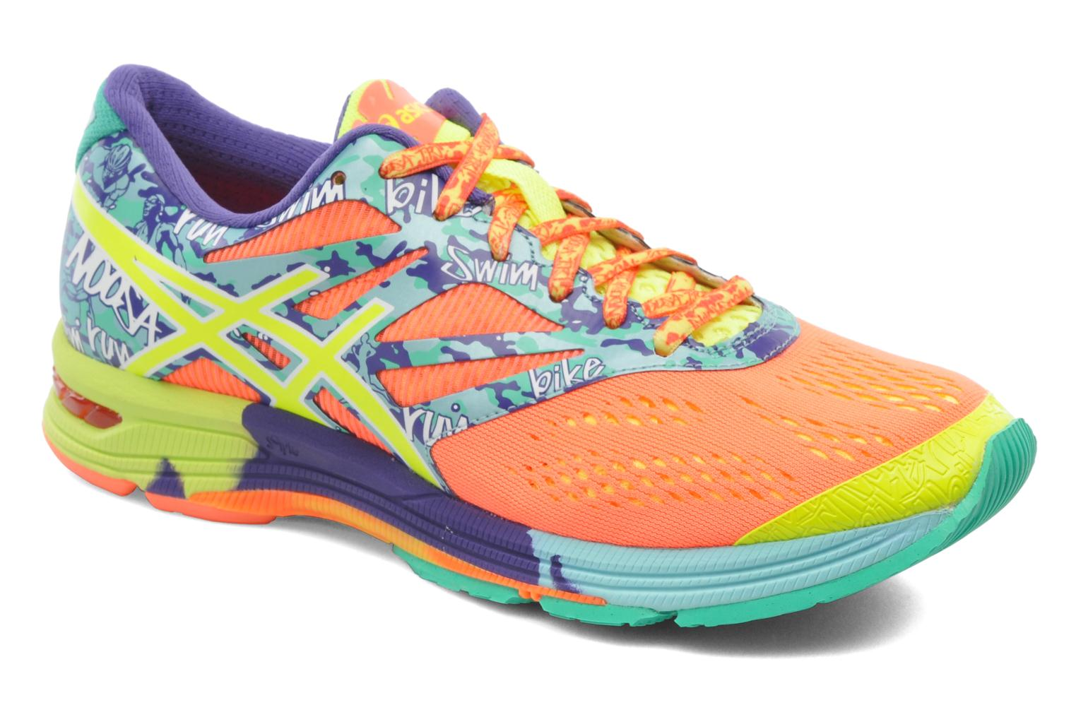 Sport shoes Asics Lady Gel-Noosa Tri 10 Multicolor detailed view/ Pair view