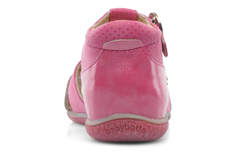 Sandales et nu-pieds Babybotte Tamika Rose vue droite