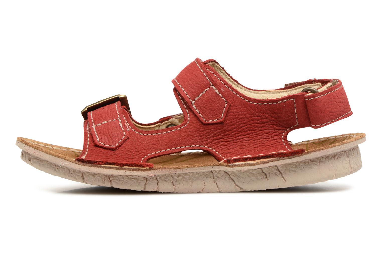 Sandales et nu-pieds El Naturalista Kiri E277 Rouge vue face