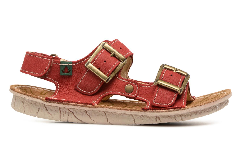 Sandales et nu-pieds El Naturalista Kiri E277 Rouge vue derrière