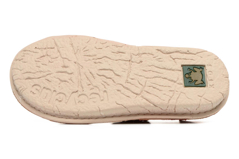 Sandales et nu-pieds El Naturalista Kiri E277 Rouge vue haut