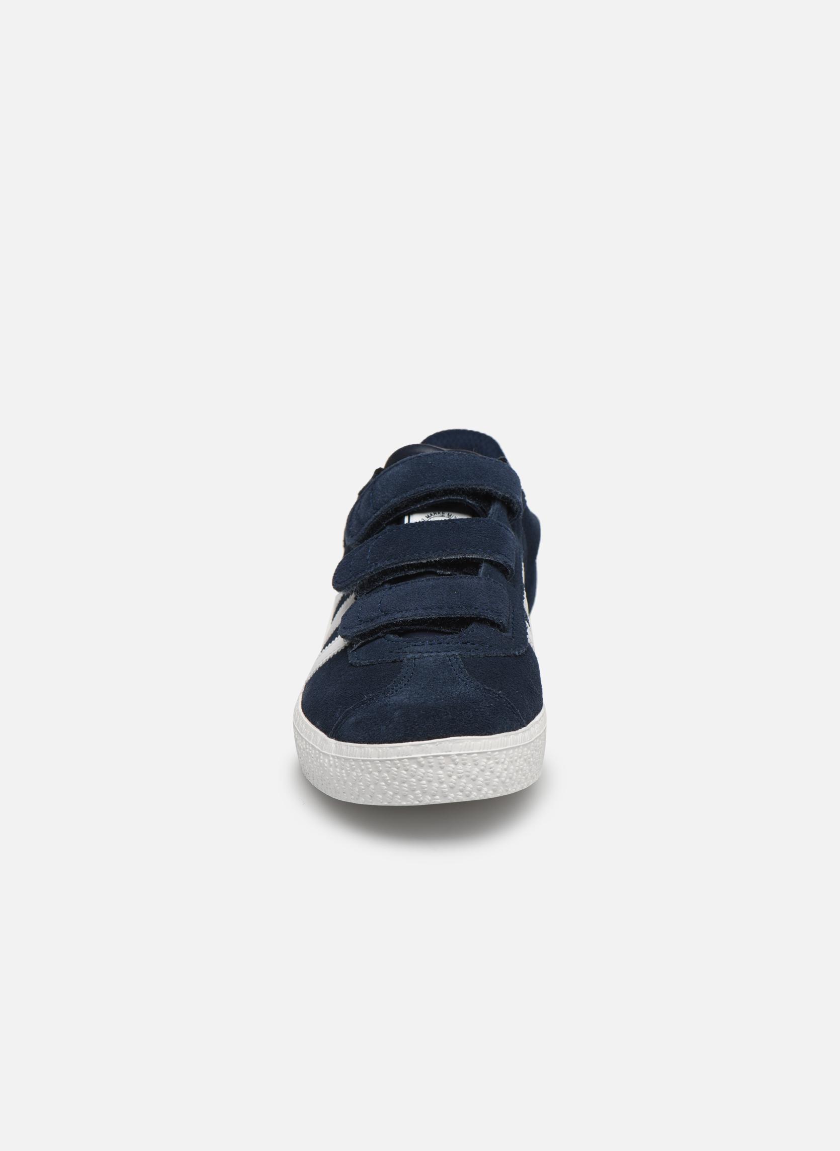 Sneakers Adidas Originals GAZELLE 2 CF C Azzurro modello indossato