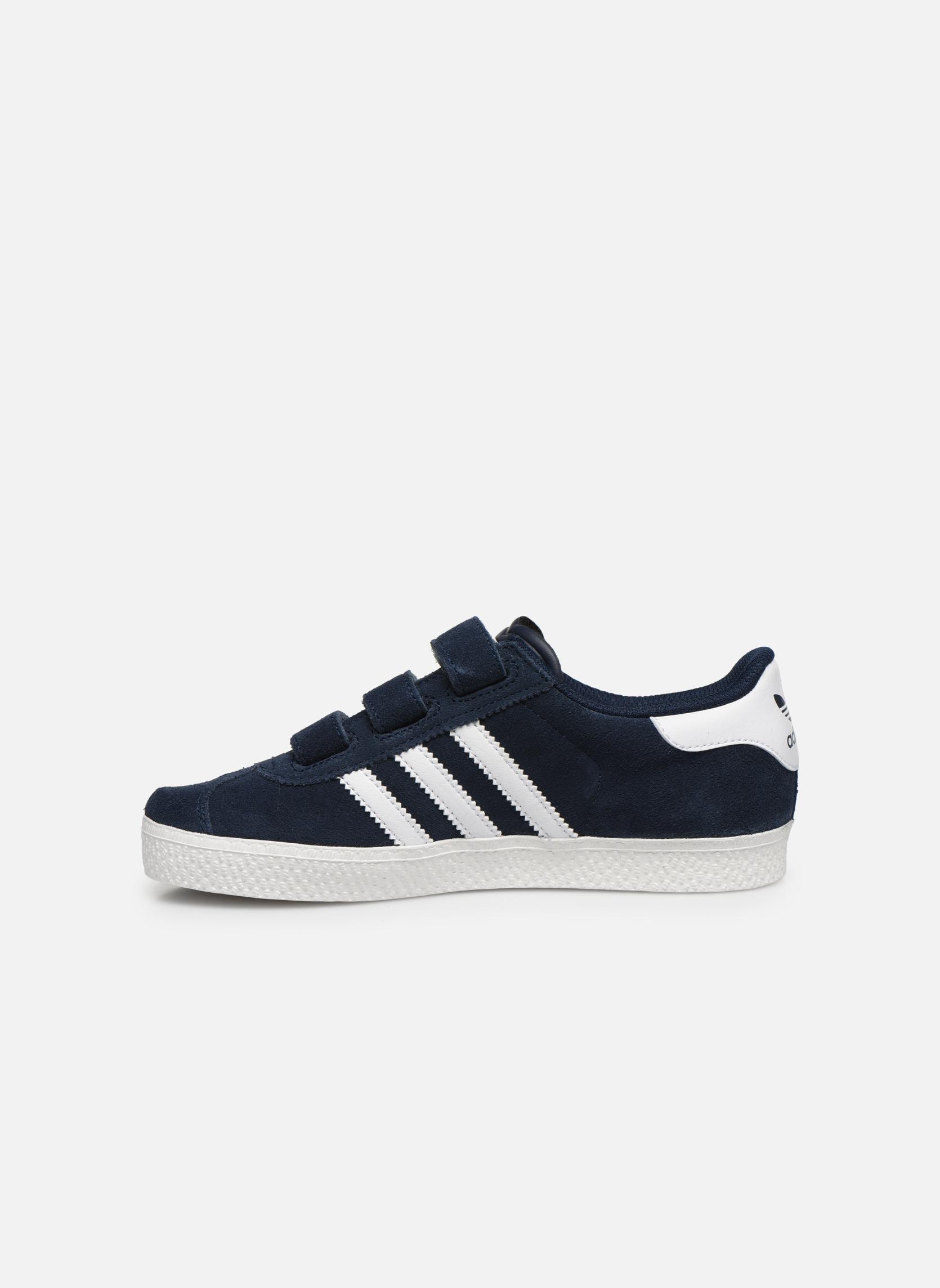 Sneakers Adidas Originals GAZELLE 2 CF C Azzurro immagine frontale