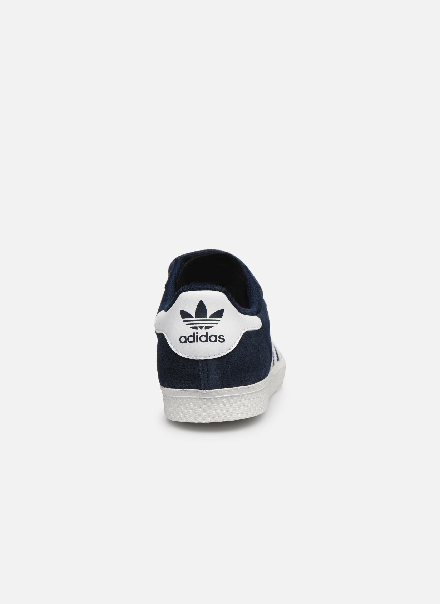 Sneakers Adidas Originals GAZELLE 2 CF C Blå Bild från höger sidan