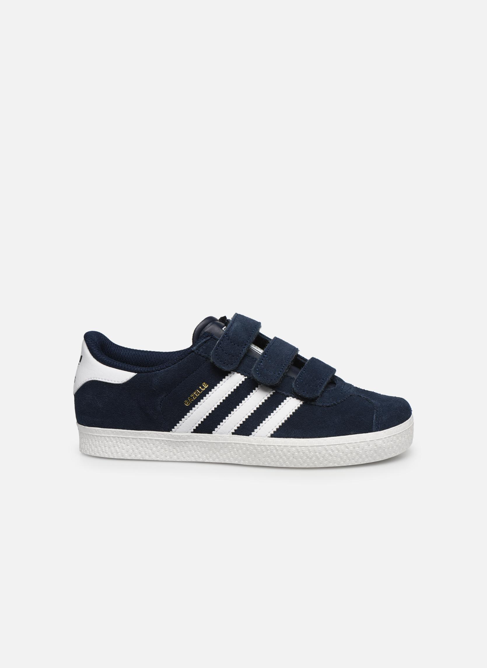 Sneaker Adidas Originals GAZELLE 2 CF C blau ansicht von hinten