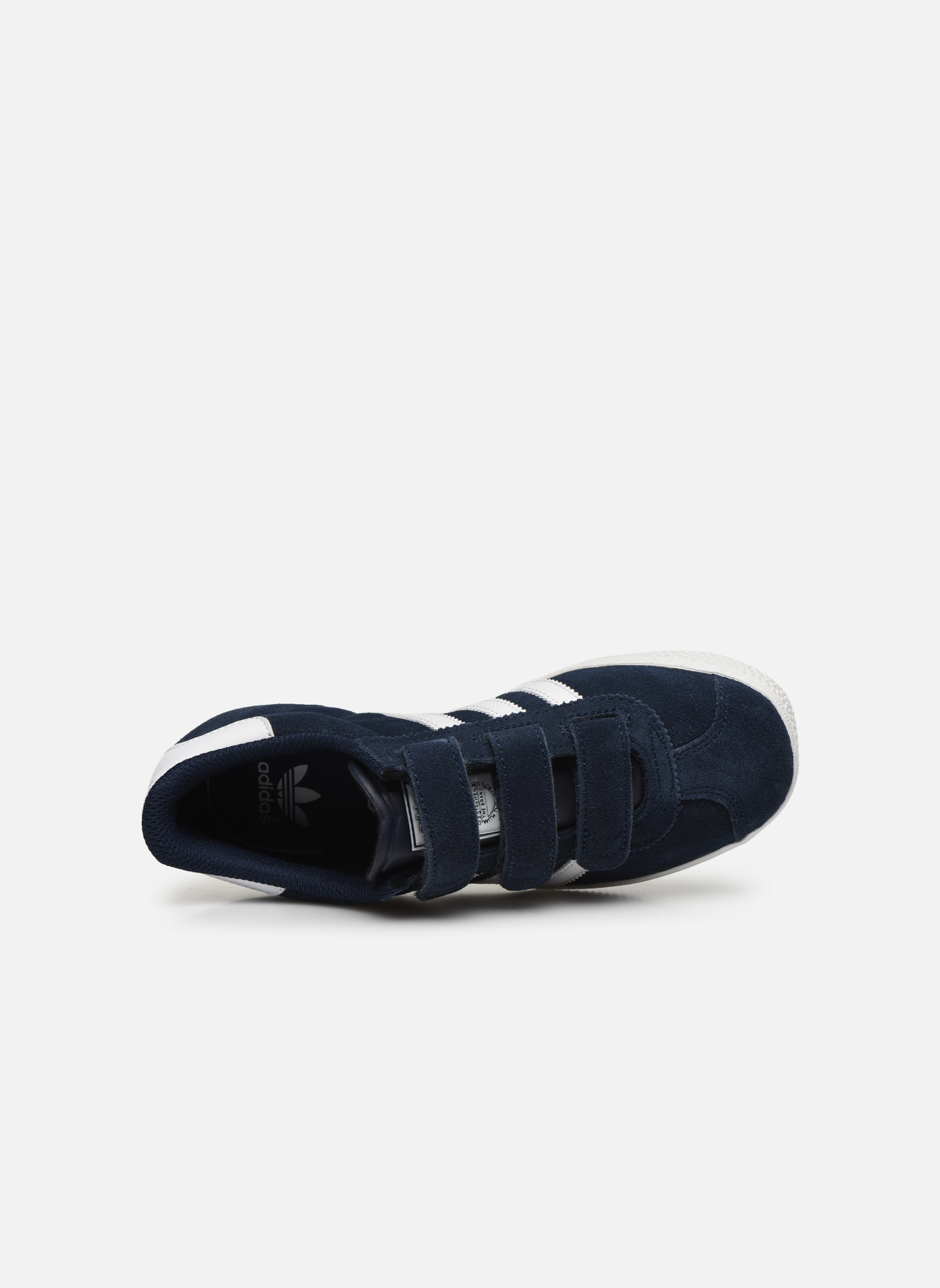 Trainers Adidas Originals GAZELLE 2 CF C Blue view from the left