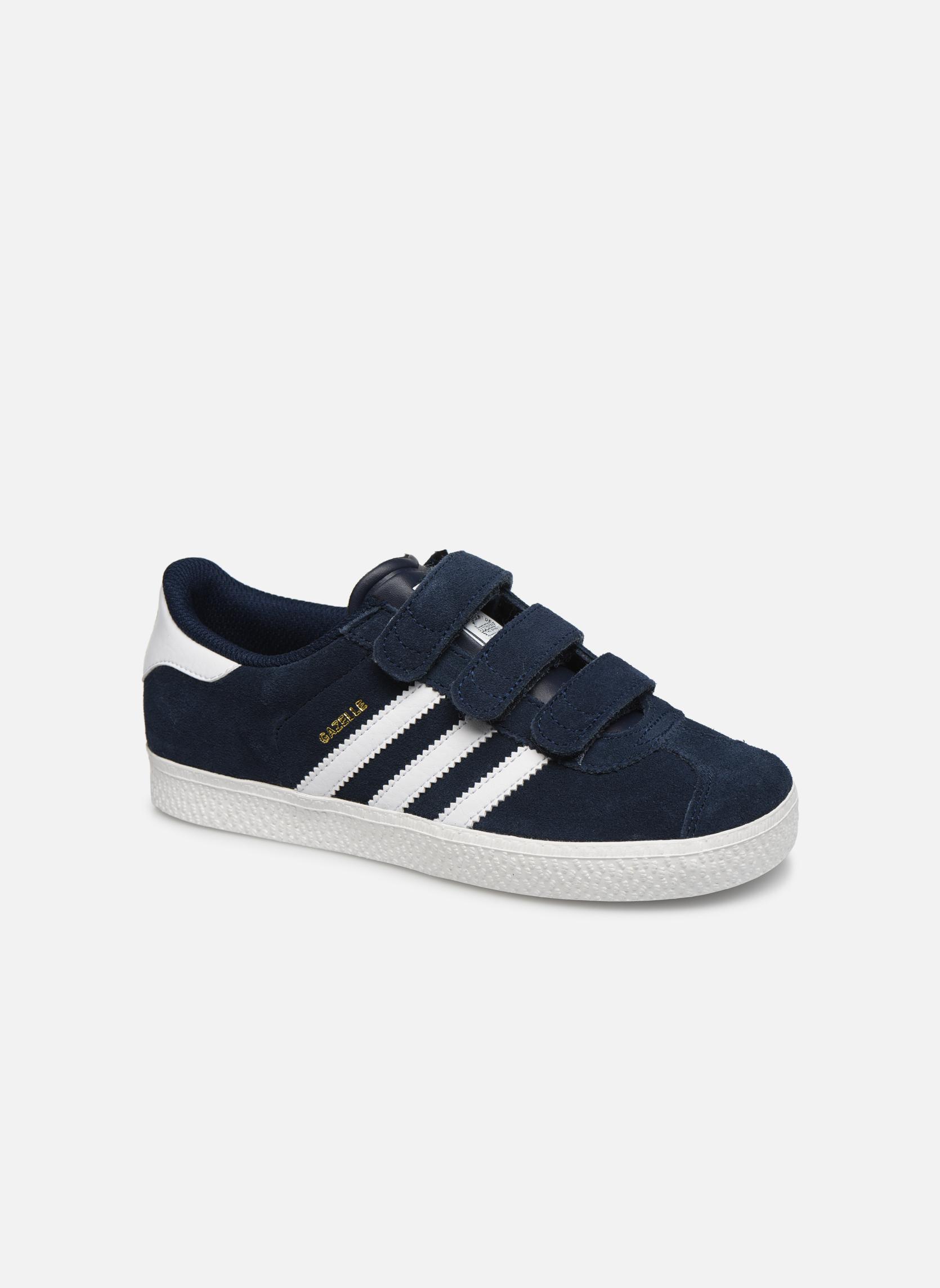 Sneakers Adidas Originals GAZELLE 2 CF C Blå detaljerad bild på paret