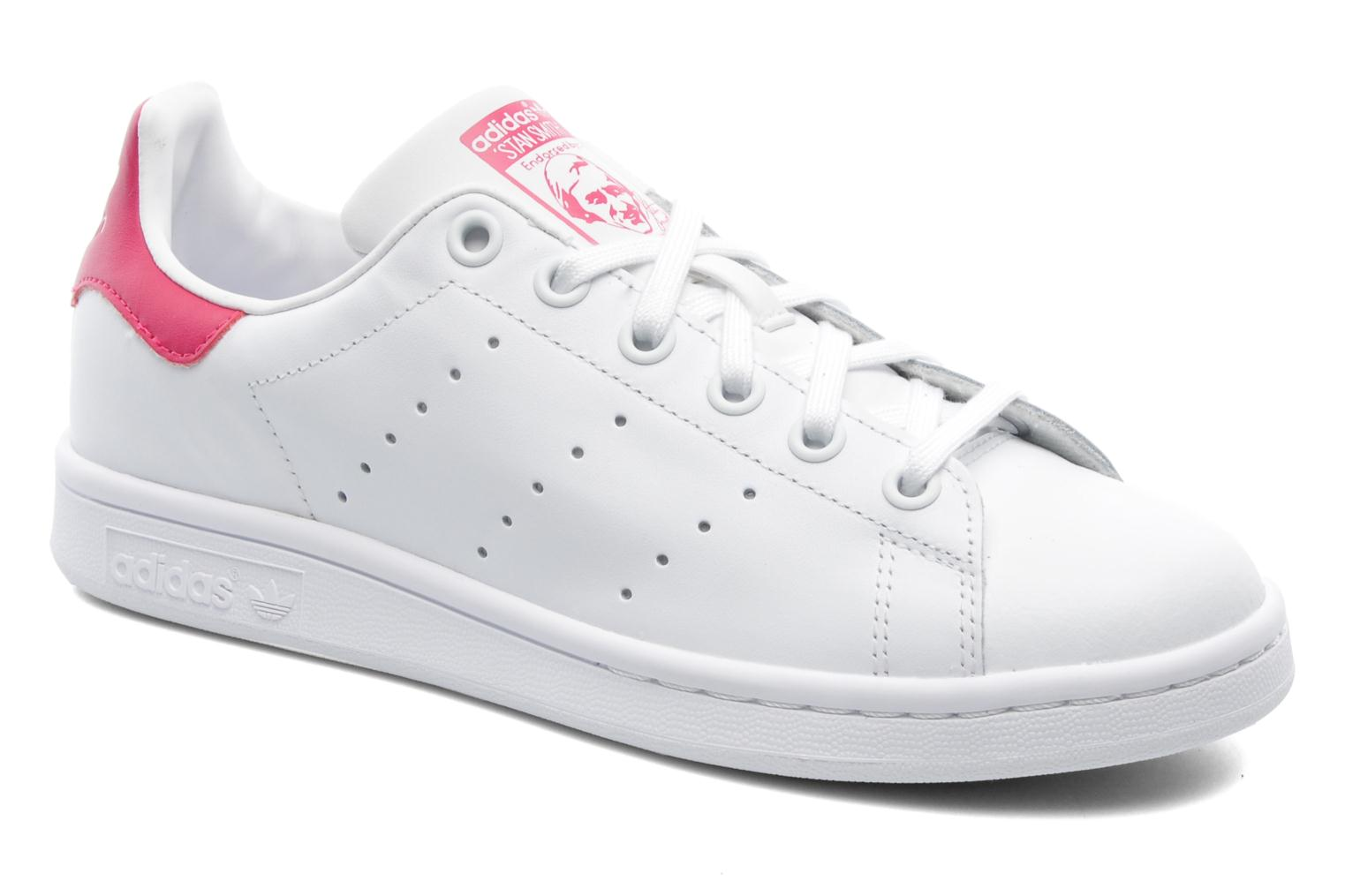adidas stan smith dames wit roze