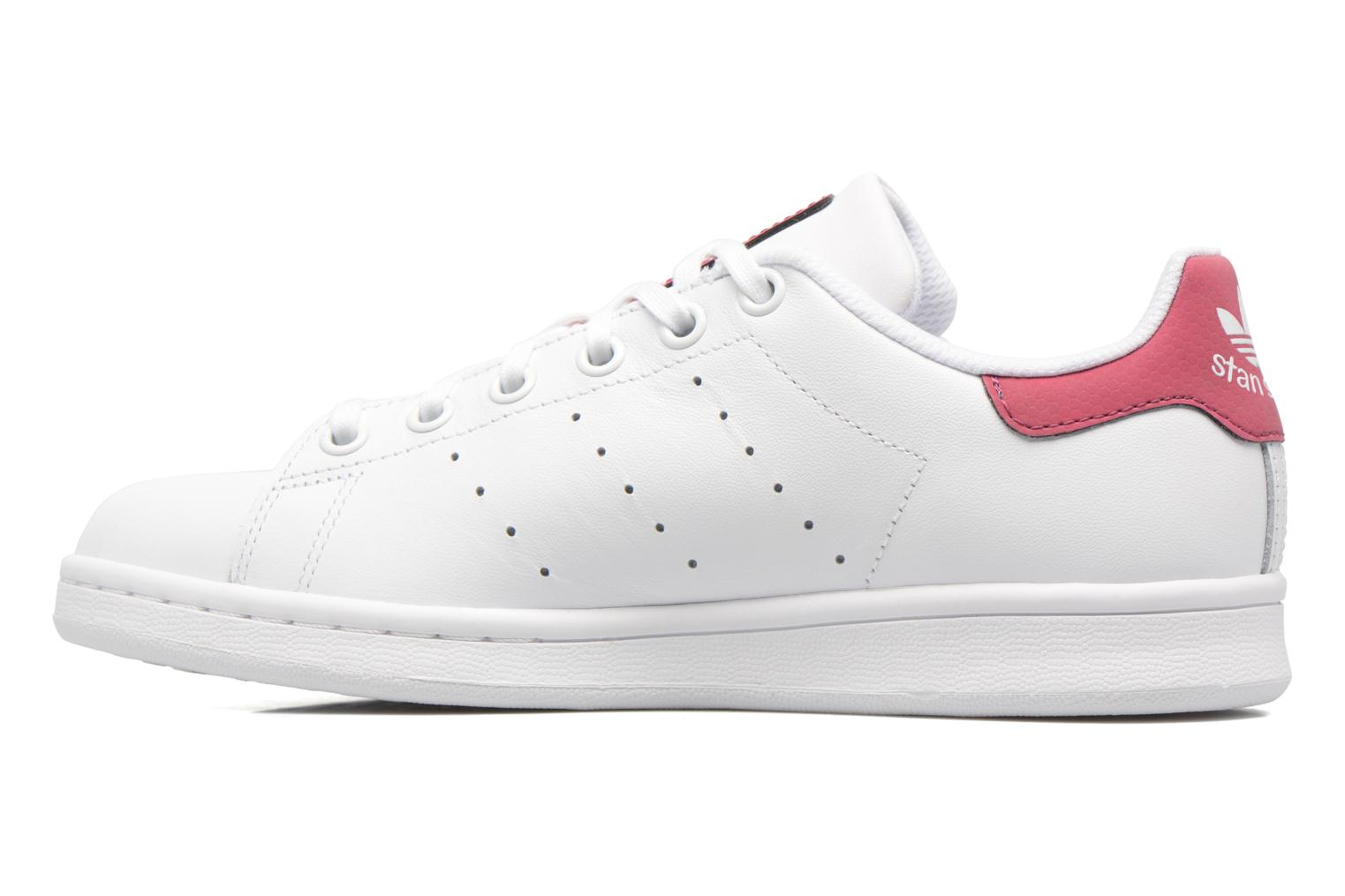 Baskets Adidas Originals STAN SMITH J Blanc vue face