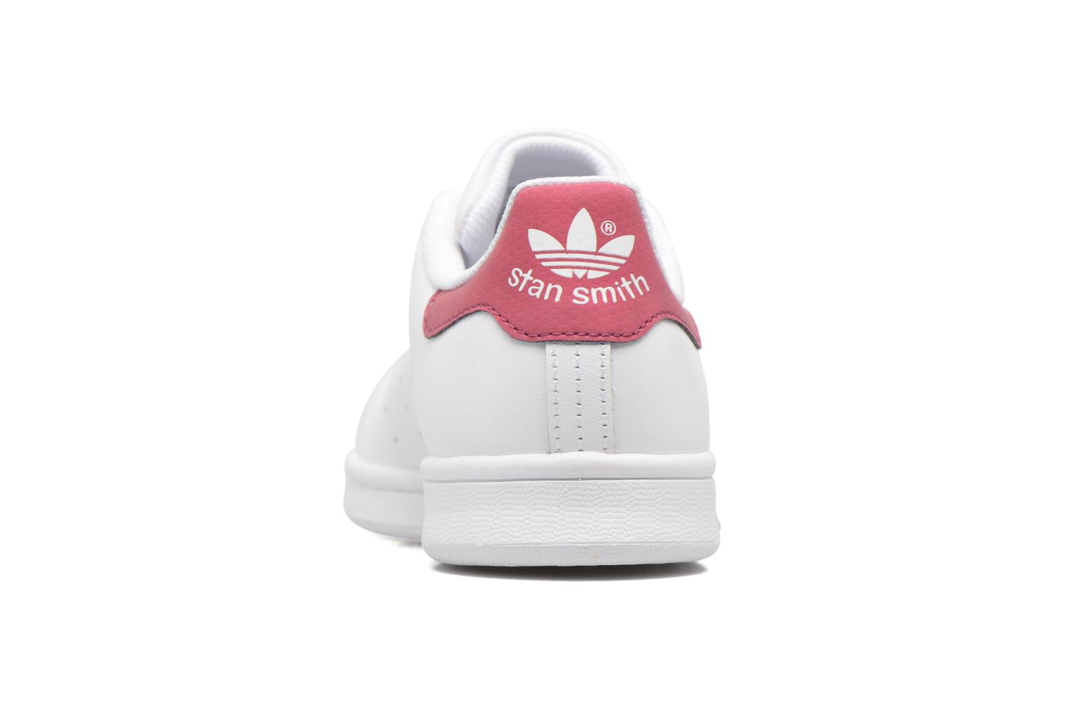 Baskets Adidas Originals STAN SMITH J Blanc vue droite