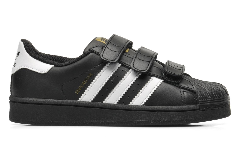 Sneaker Adidas Originals Superstar Foundation Cf C schwarz ansicht von hinten