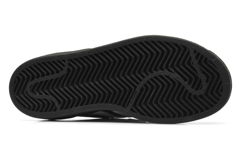 Baskets Adidas Originals Superstar Foundation Cf C Noir vue haut
