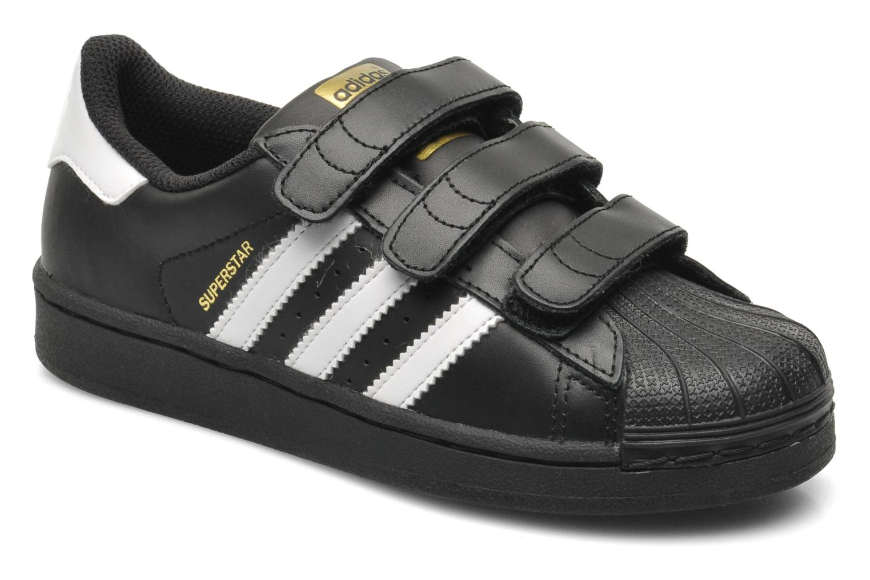 Sneaker Adidas Originals Superstar Foundation Cf C schwarz detaillierte ansicht/modell