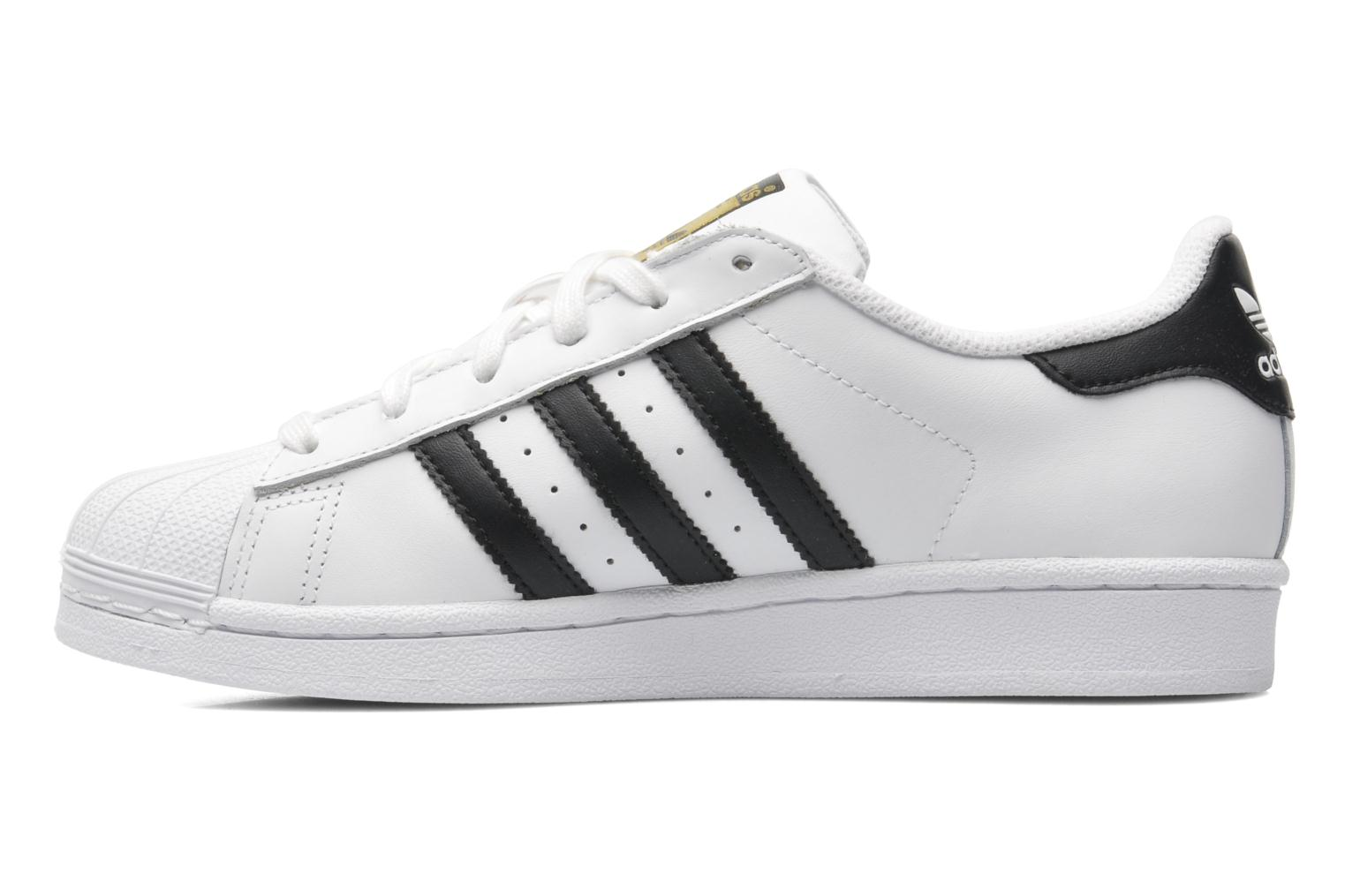 Sneakers Adidas Originals SUPERSTAR J Bianco immagine frontale