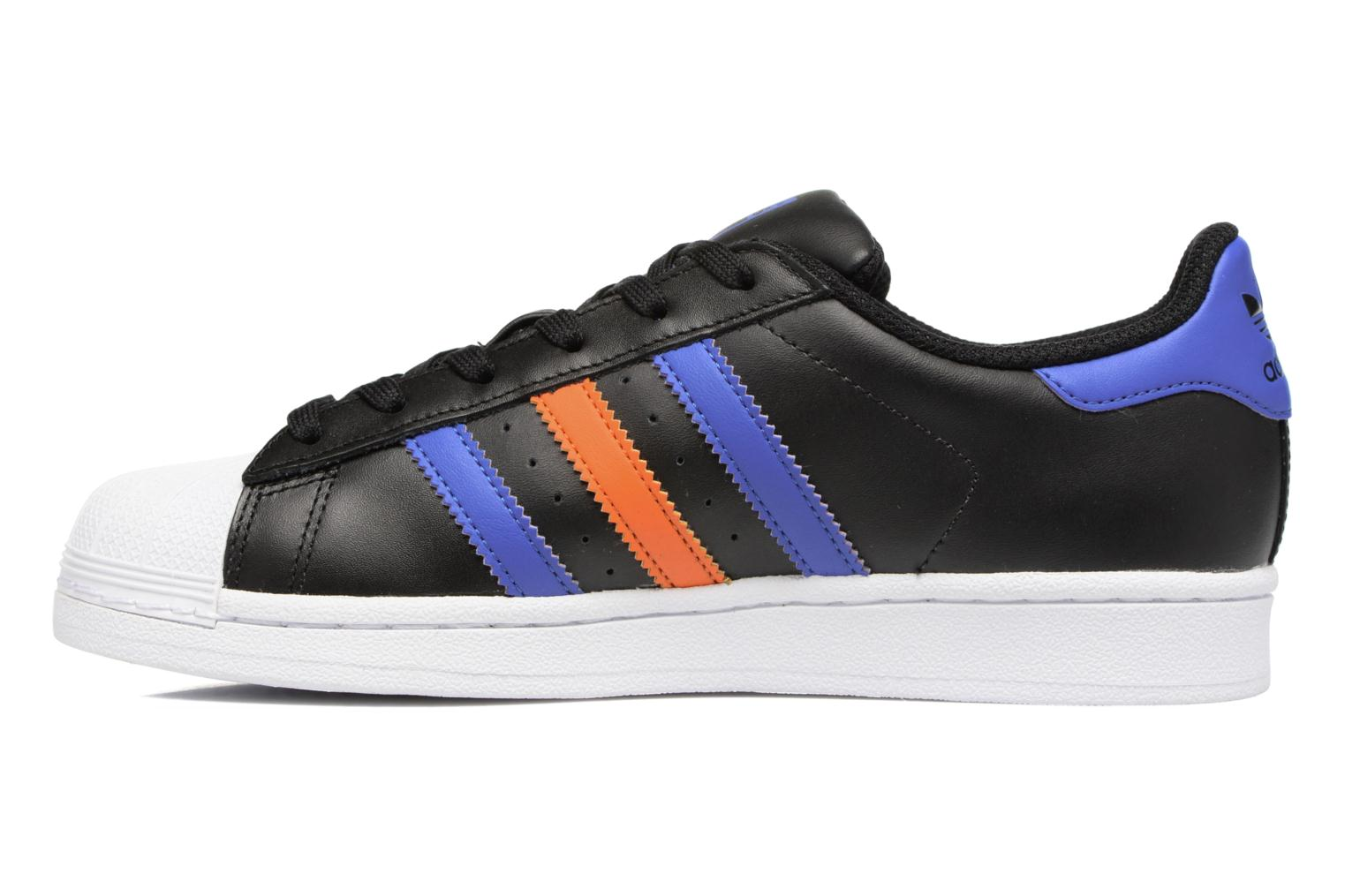 Sneakers Adidas Originals SUPERSTAR J Sort se forfra