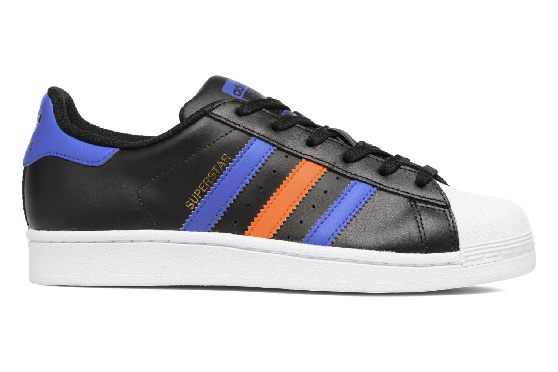 Baskets Adidas Originals SUPERSTAR J Noir vue derrière