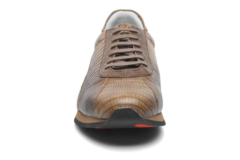 Sneakers Jean-Baptiste Rautureau Adam jogger Marrone modello indossato