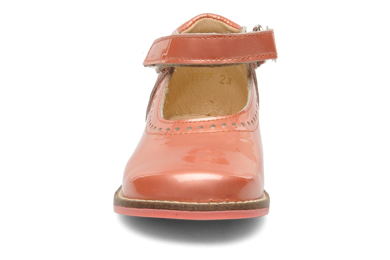 Ballerines Babybotte Servane Rose vue portées chaussures