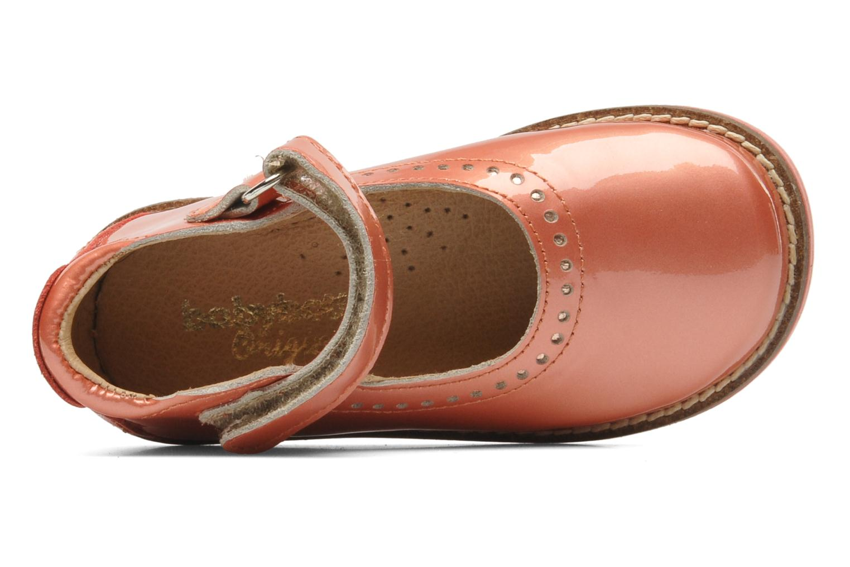 Ballerinas Babybotte Servane rosa ansicht von links