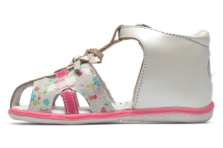 Sandales et nu-pieds Babybotte TIBELUL Blanc vue face