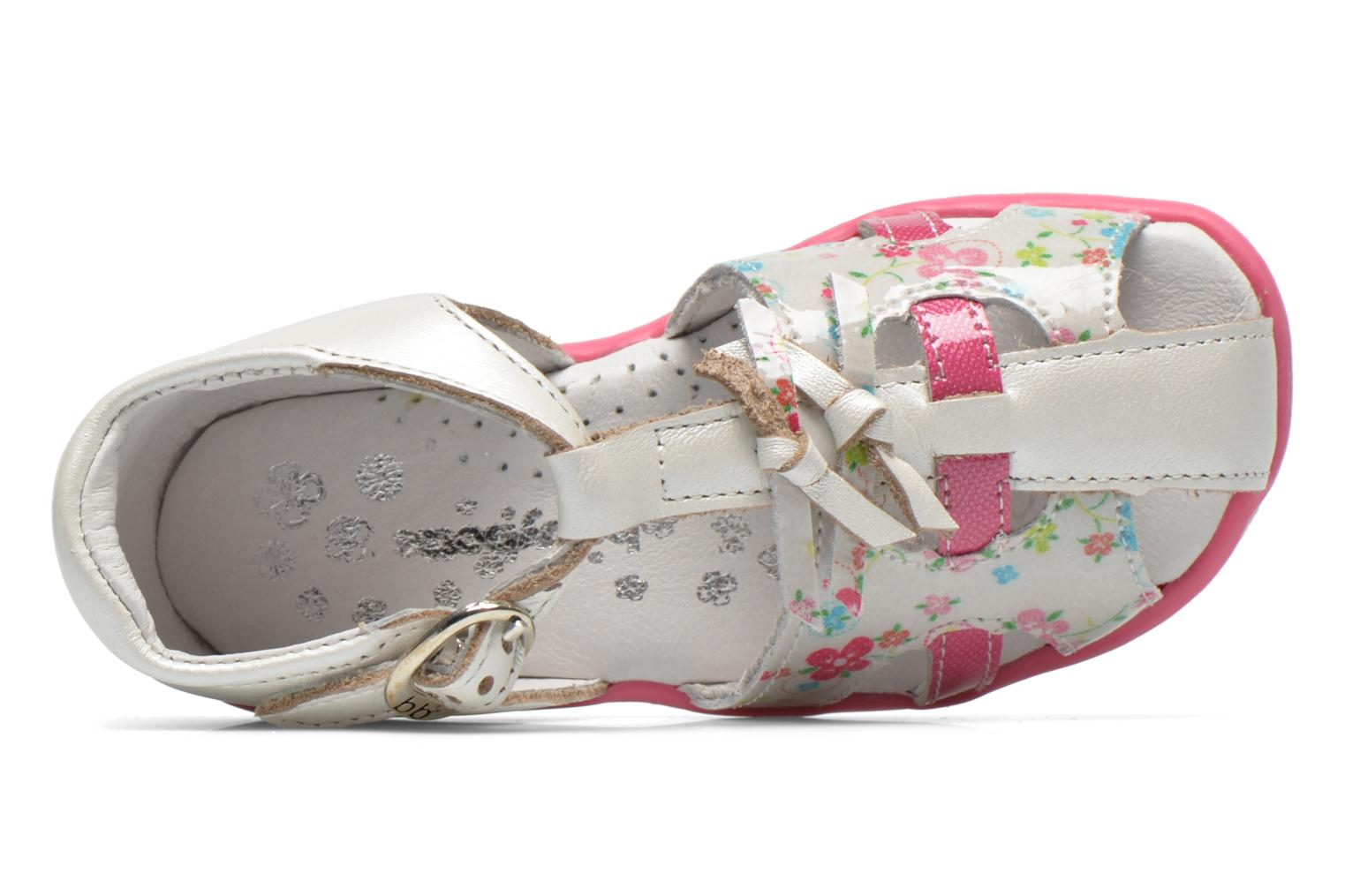 Sandals Babybotte TIBELUL White view from the left