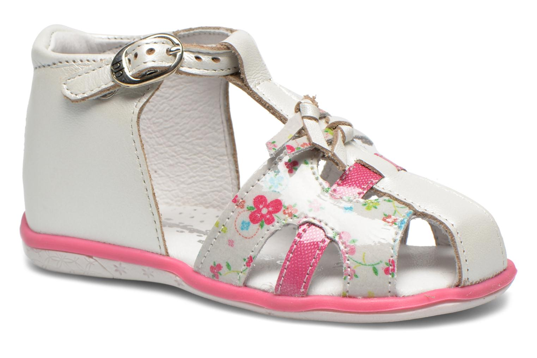 Sandales et nu-pieds Babybotte TIBELUL Blanc vue détail/paire