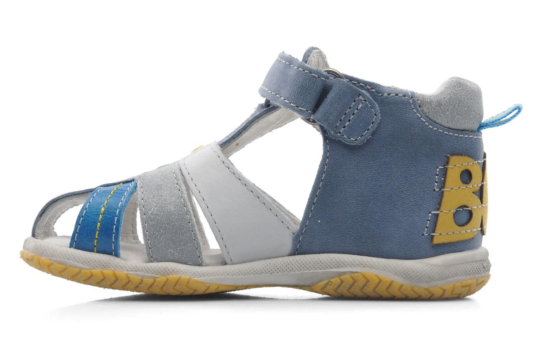 Sandales et nu-pieds Babybotte TICTAK Bleu vue face