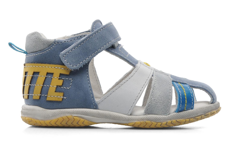 Sandales et nu-pieds Babybotte TICTAK Bleu vue derrière