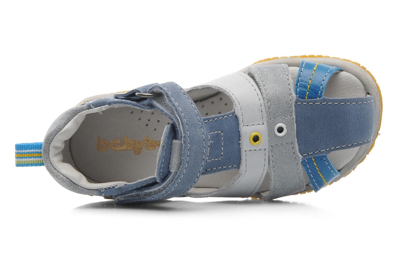 Sandales et nu-pieds Babybotte TICTAK Bleu vue gauche