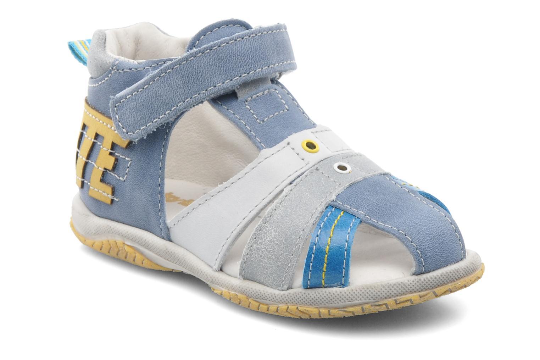 Sandales et nu-pieds Babybotte TICTAK Bleu vue détail/paire